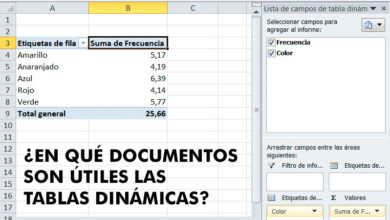 Photo of Dynamic tables in excel what are, for what are they served and when is it more convenient to use them in my spreadsheets?