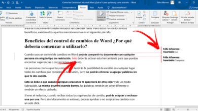 Photo of Change control in microsoft word what is it, what is it for and how to activate it?
