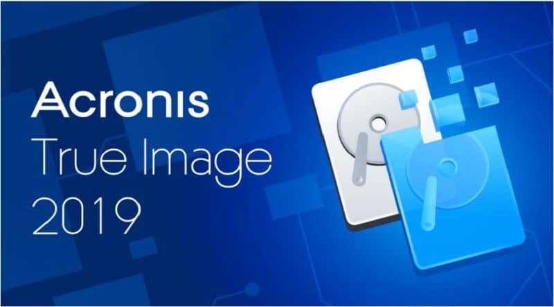 Acronis true image and hard disk icon