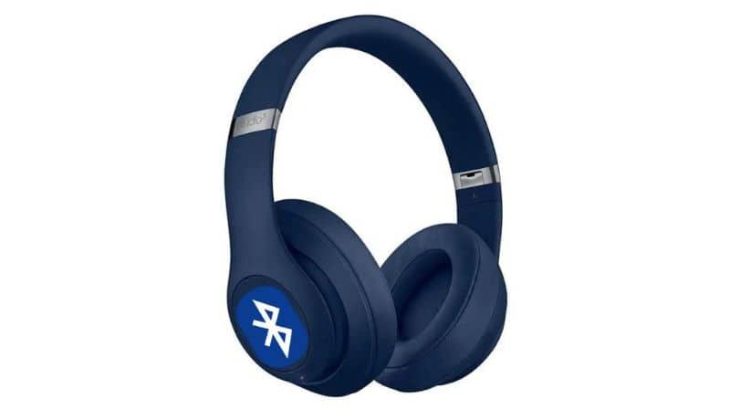Bluetooh headphones, logo