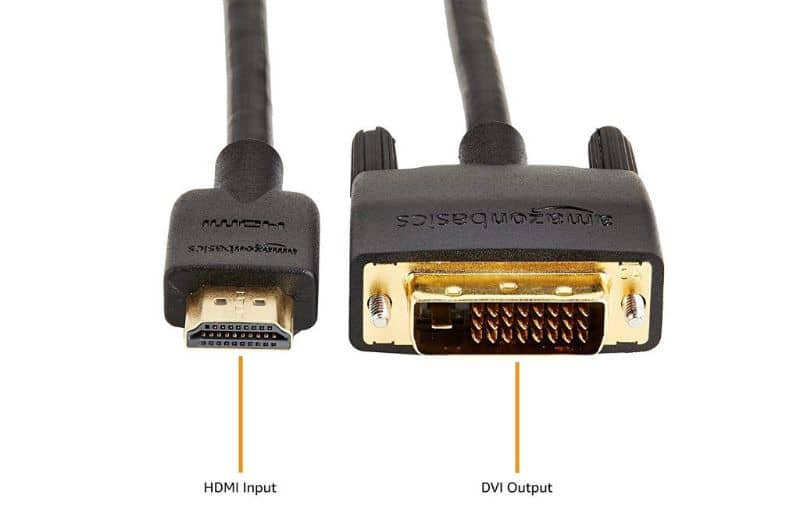 HDMI cable.