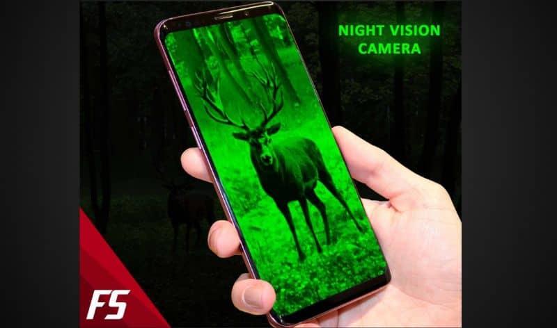 Android night vision camera
