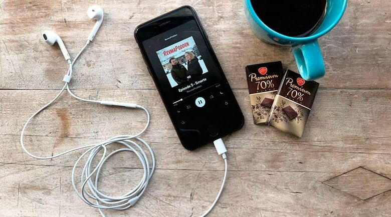 Audio file from an iPhone
