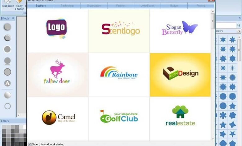 Design logo program