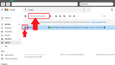 Photo of How to see the recycle bin in gmail and know where it is to be able to recover deleted messages? Step by step guide