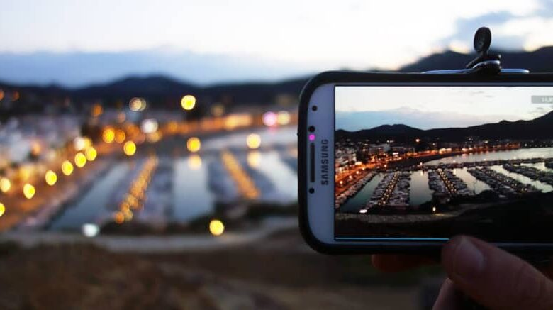 Framing camera for time lapse