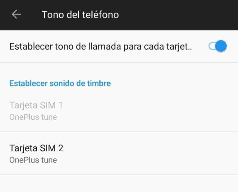Configure 2 ringtones on mobile