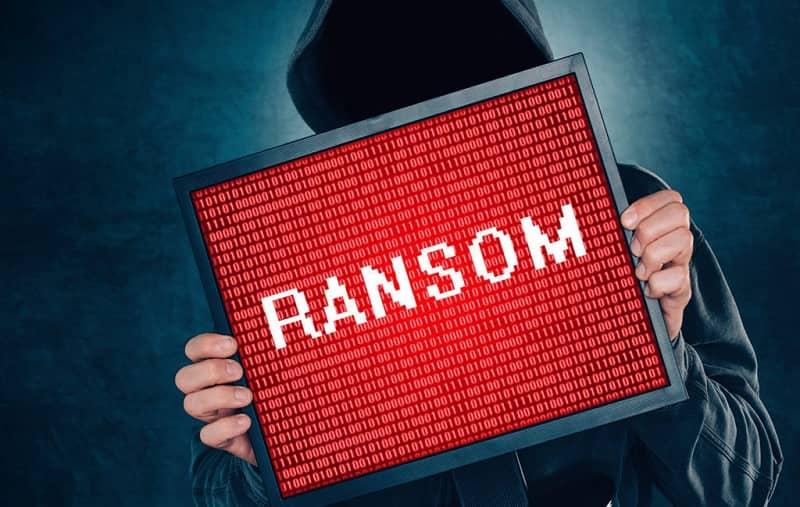 Criminal hacker using ransom strategy