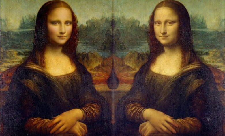 The monalisa with another face