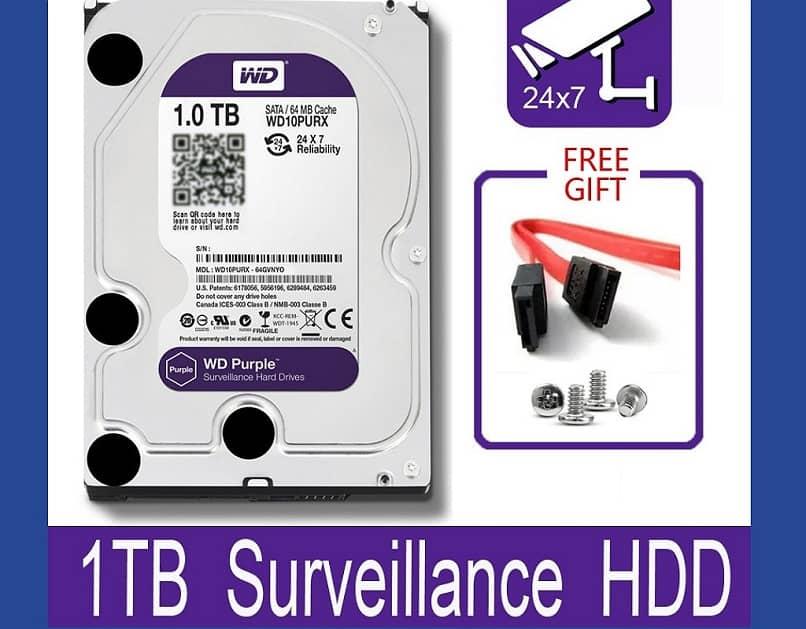 western digital hard drive with SATA connector