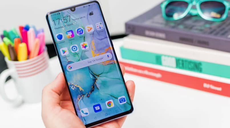 Huawei mobile with EMUI