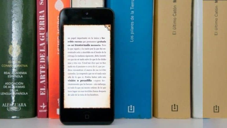 Mobile, background books