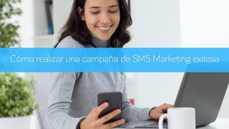 Woman Phone SMS Marketing