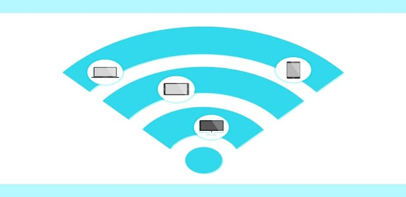 Wifi signal reaching different devices