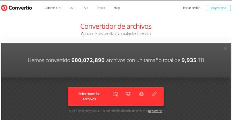 Convertio Website