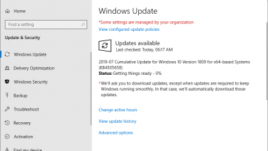 Photo of Kb4505658: the new update for windows 10 1809 arrives with a multitude of fixes
