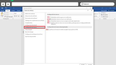 Photo of Macro security in microsoft word what is it, what is it for and how to configure it?