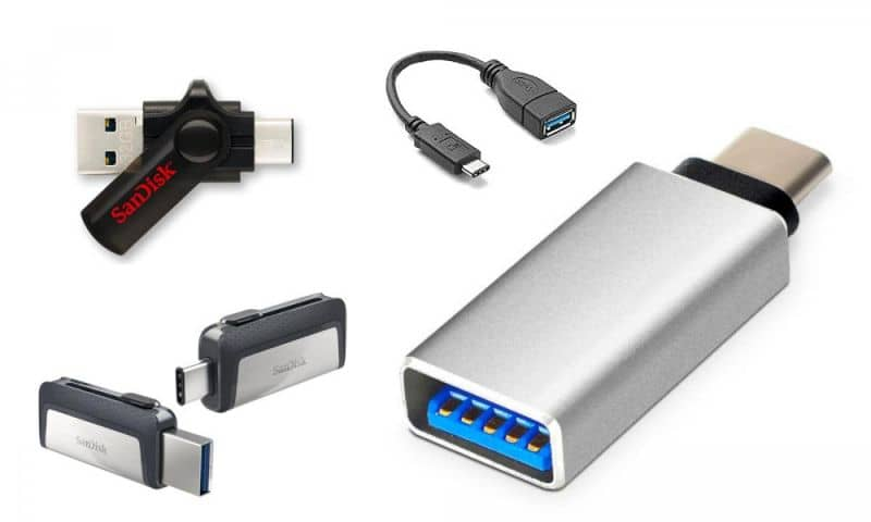 UTP Cable Key and Pendrive