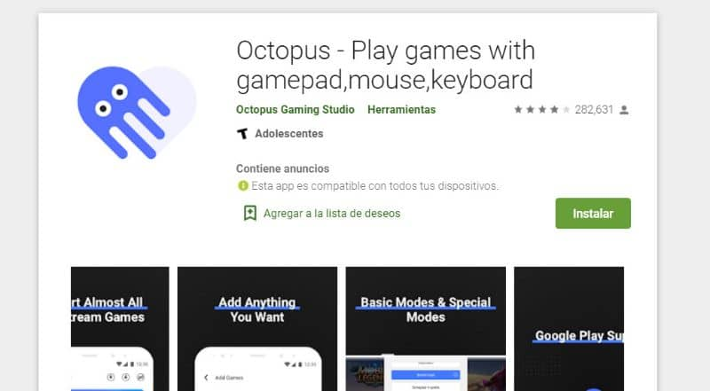 Play store Octopus