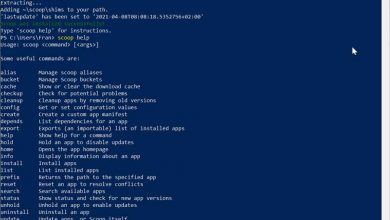Photo of Install linux-style windows powershell programs with scoop