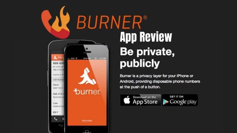 Burner App on Mobile