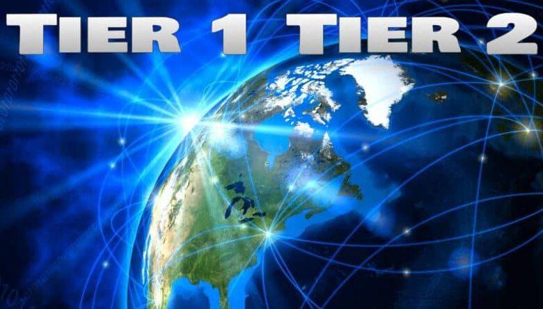 Tier 1 Tier 2