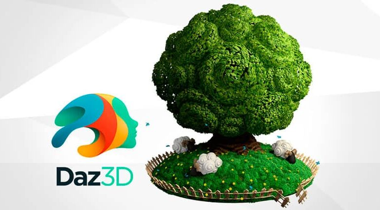 3D tree made with BR5