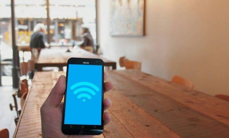 Use Wi-Fi network