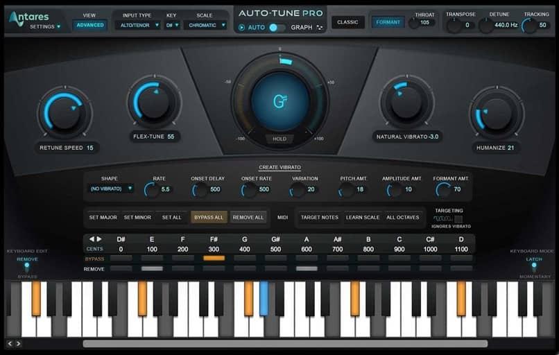 autotune audio levels