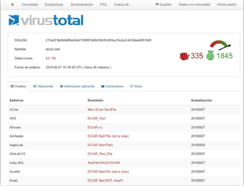 how to do total virus scan