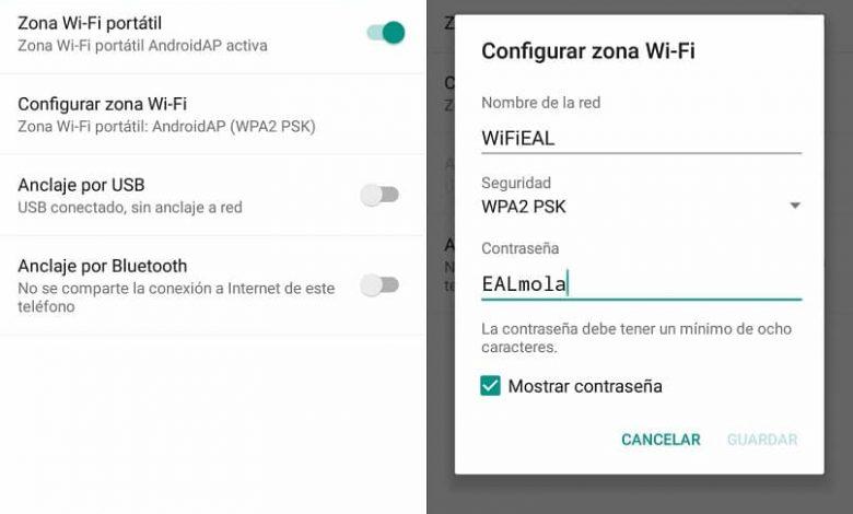configure wifi zone