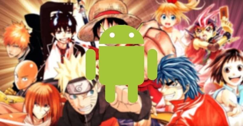 android background anime