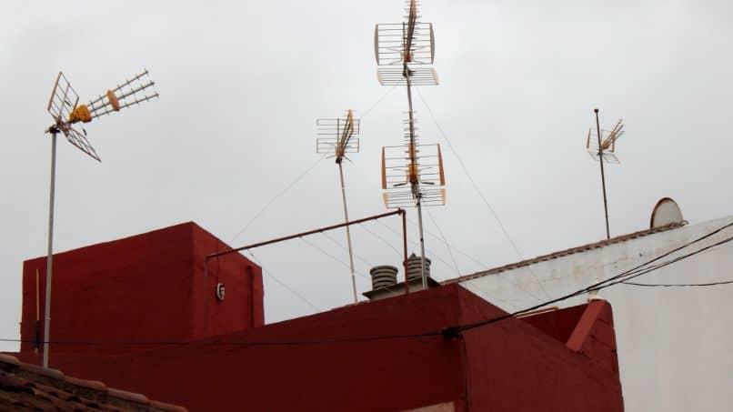 aerial building