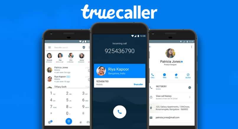truecaller application phone block call ended 127