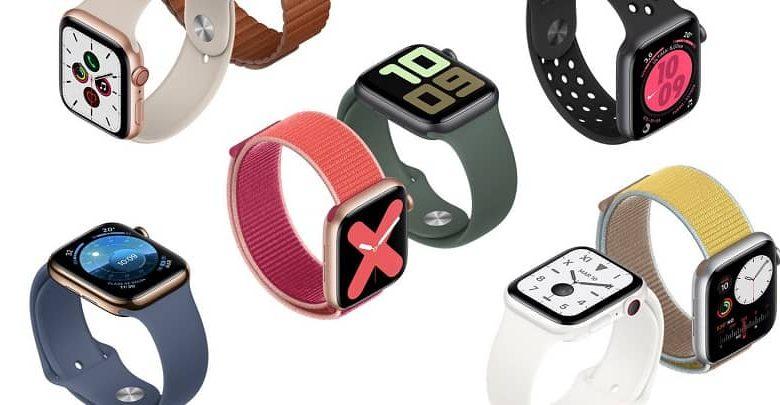 multi color apple watch