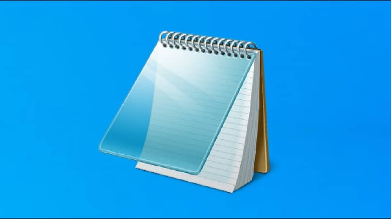 icon notepad windows serves to open files