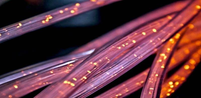 shiny internet cables
