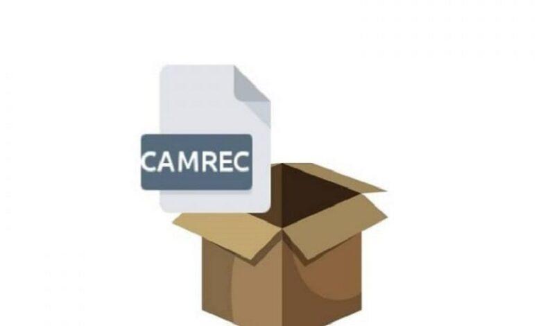 Open CAMREC file