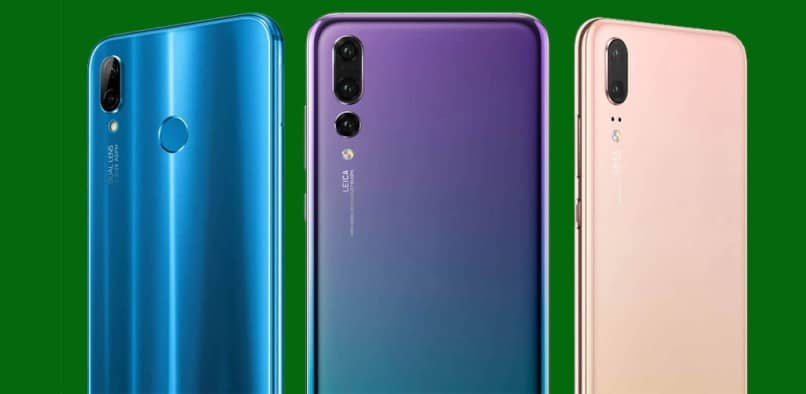 different huawei cell phones