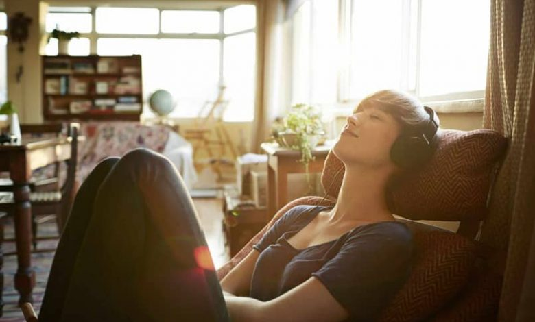 boy resting music