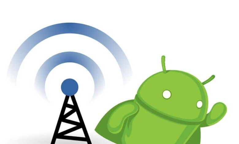 android mobile signal