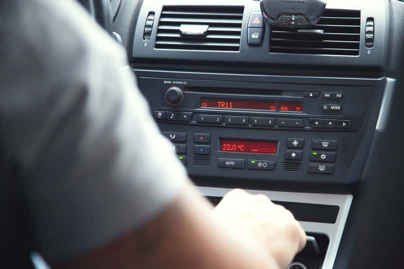 chinese radio software of a car
