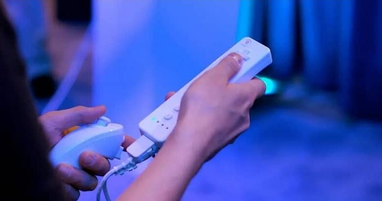 wii control and nunchuk