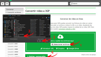 Photo of File extension 3gp: what are and how to open these types of files?