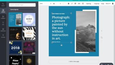 Photo of How to easily create landing pages for Instagram using Canva