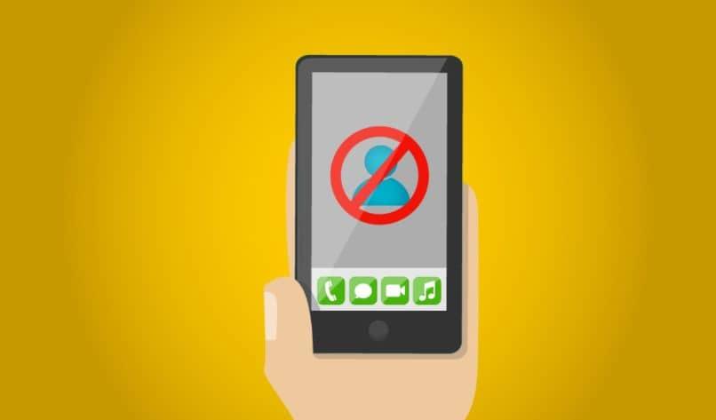 mobile hand icon locked app