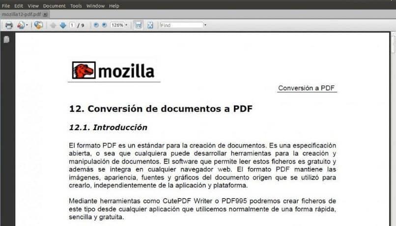 write pdf document