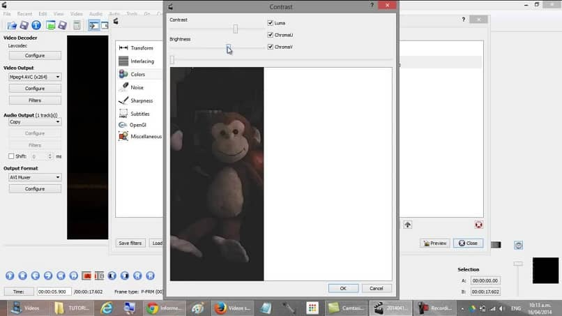 video editing options