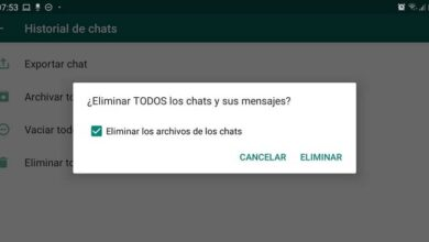 Photo of How to delete WhatsApp conversations / chats with their multimedia files