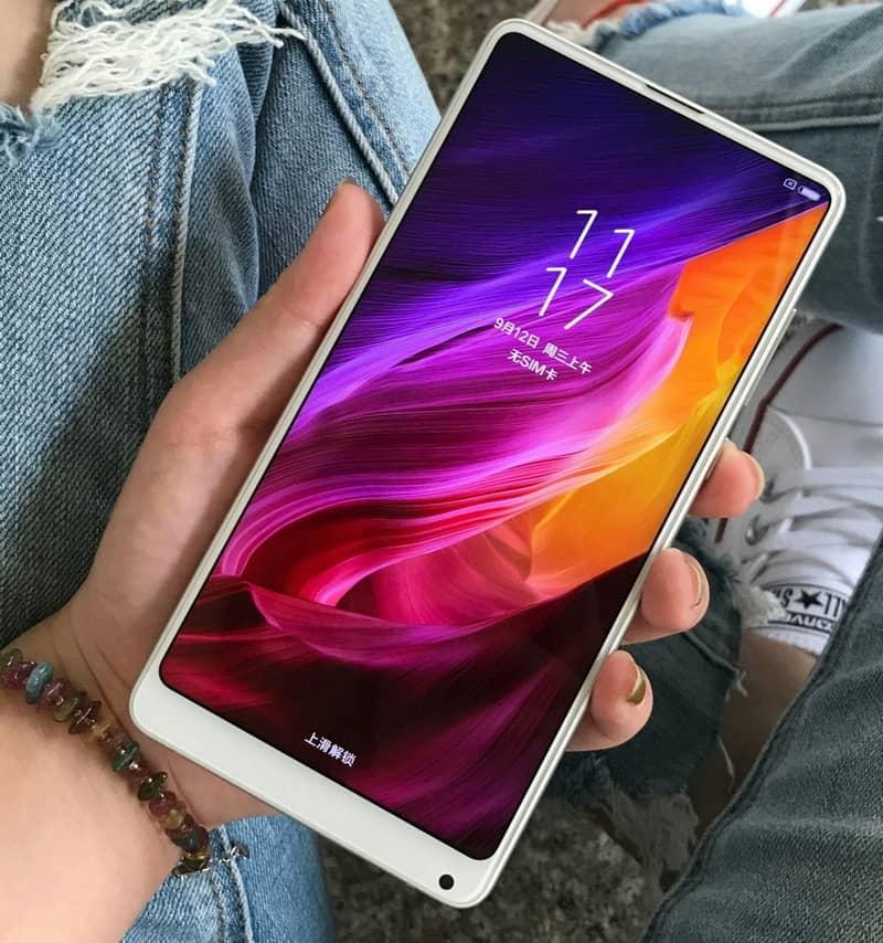 Xiaomi mobile screen
